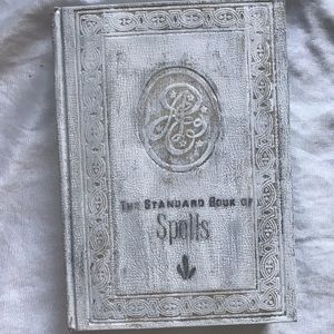 Harry Potter spell book handmade